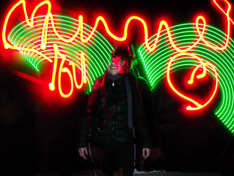 PICTOLUM LIVE LIGHT PAINTING Fete des Lumieres Rillieux-la-Pape