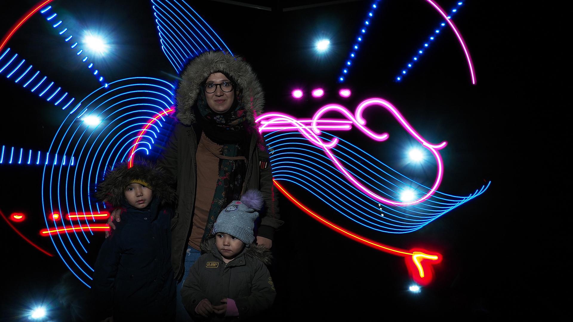 PICTOLUM LIVE LIGHT PAINTING-Fête des Lumières de Tassin-la-Demi-Lune